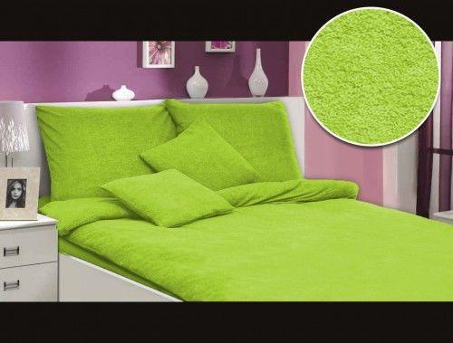 Darymex Pościel frotte zieleń nowa 014 200x220