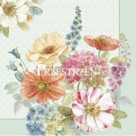 SERWETKI PAPIEROWE - Wiejskie Kwiaty - Cottage Flowers (COTT)