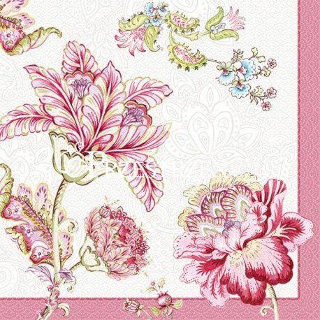 SERWETKI PAPIEROWE - Kwiaty (PAIS)