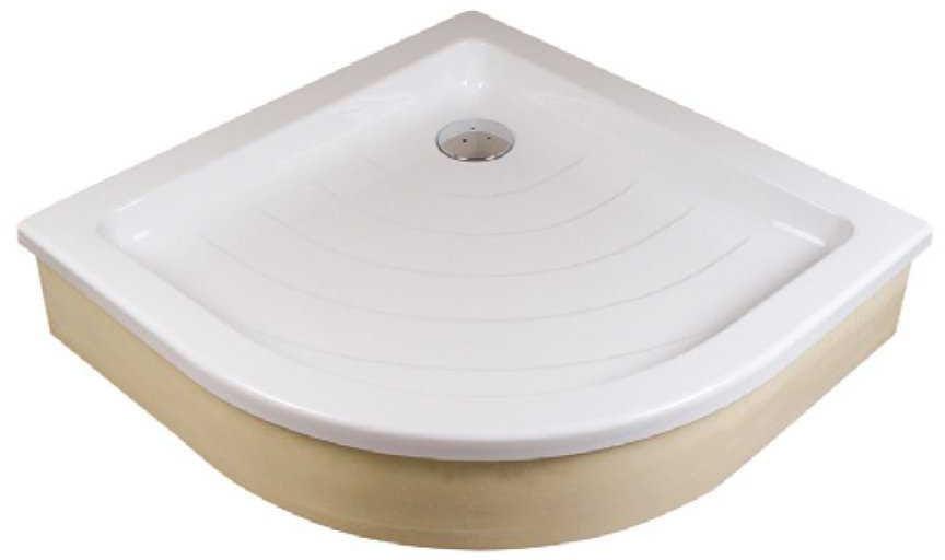 Ravak brodzik półokrągły akrylowy Ronda EX 805x805 A204001320