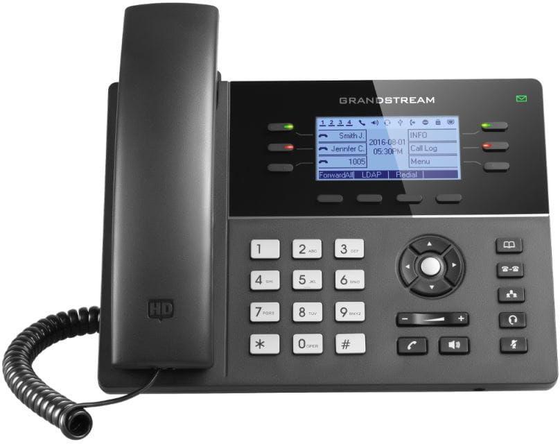 Grandstream GXP1760 - telefon VoIP 3 konta SIP PoE