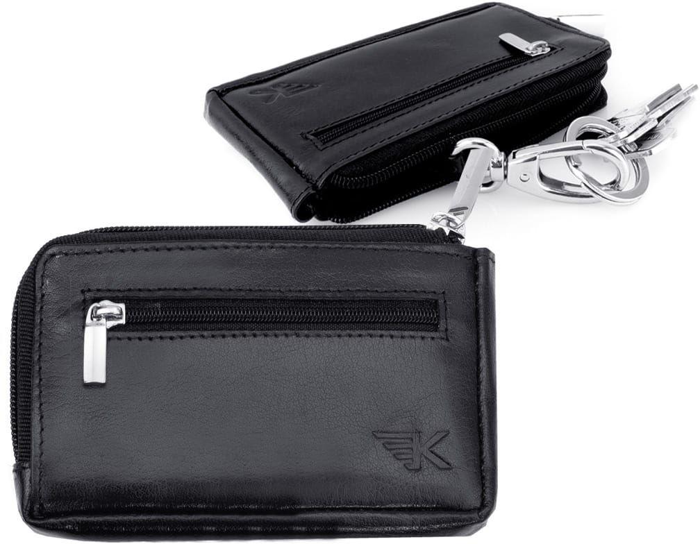 KOCHMANSKI etui na klucze portmonetka RFID skórzane 5125
