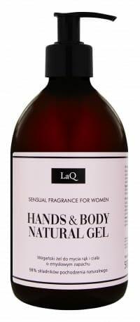 LaQ Wegański Żel do Mycia Ciała o Zmysłowym Zapachu Sensual 500 ml