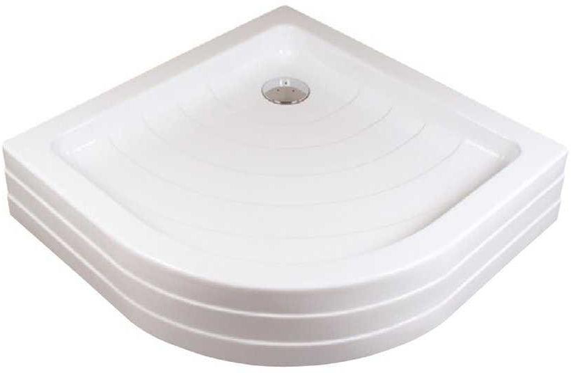 Ravak brodzik półokrągły akrylowy Ronda PU 805x805 A204001120