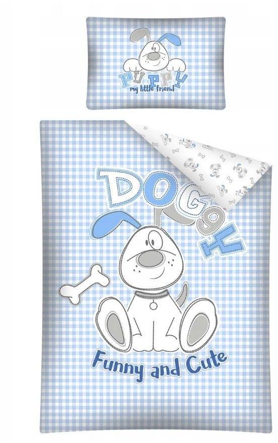 Pościel Dziecięca 100x135+40x60 Doggy 2821A