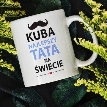 Najlepszy Tata - Personalizowany Kubek