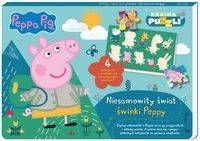 Peppa Pig Kraina puzzli Niesamowity świat świnki Peppy - opracowanie zbiorowe