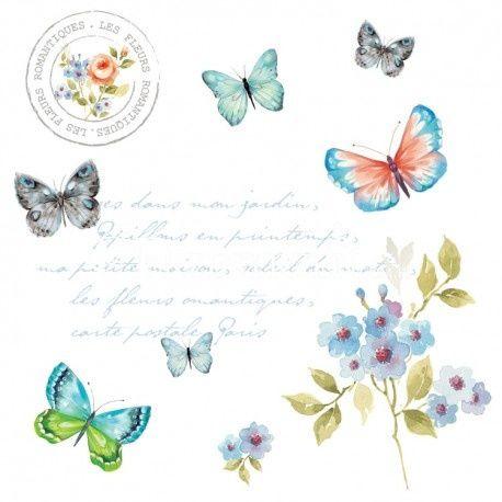 SERWETKI PAPIEROWE - Motyle (SPBU)