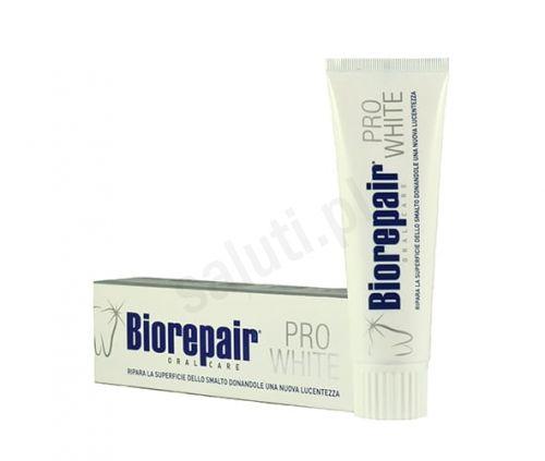 Biorepair Pro White - wybielająca pasta do zębów bez fluoru (75 ml)