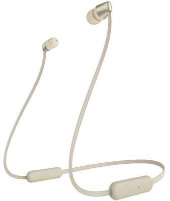 Słuchawki bezprzewodowe SONY WI-C310 Złoty