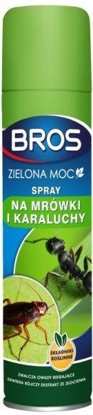 Spray na mrówki i karaluchy Bros Zielona Moc 300 ml