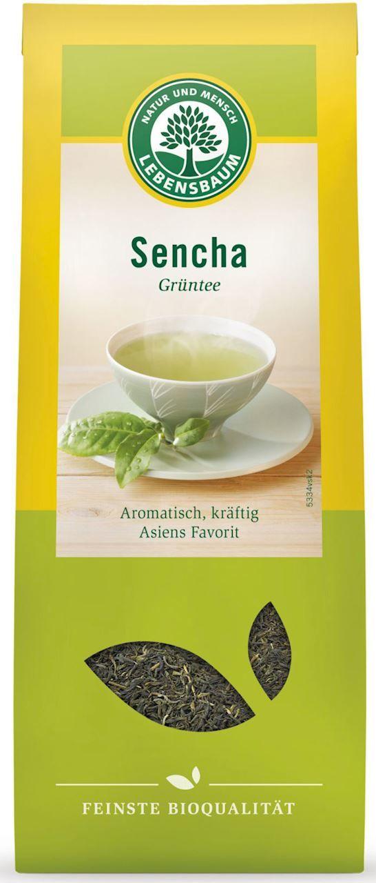 Herbata Zielona Sencha BIO 75g - Lebensbaum