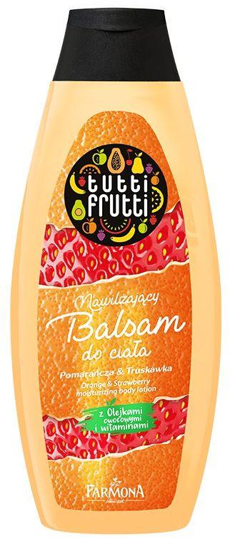 TUTTI FRUTTI Pomarańcza & Truskawka nawilżający balsam do ciala 425 ml