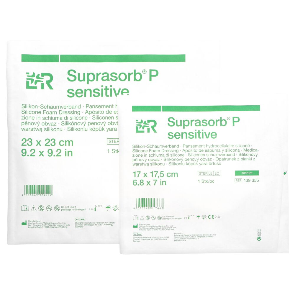 Opatrunek z pianki silikonowej Suprasorb P sensitive [sacrum] (LR)