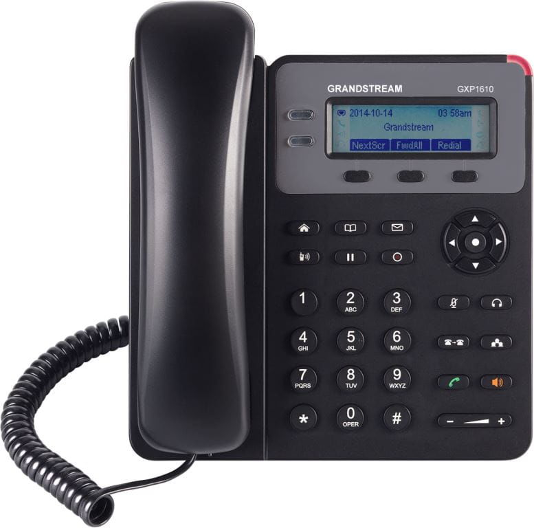 Grandstream GXP1610 - telefon VoIP - 1 port SIP
