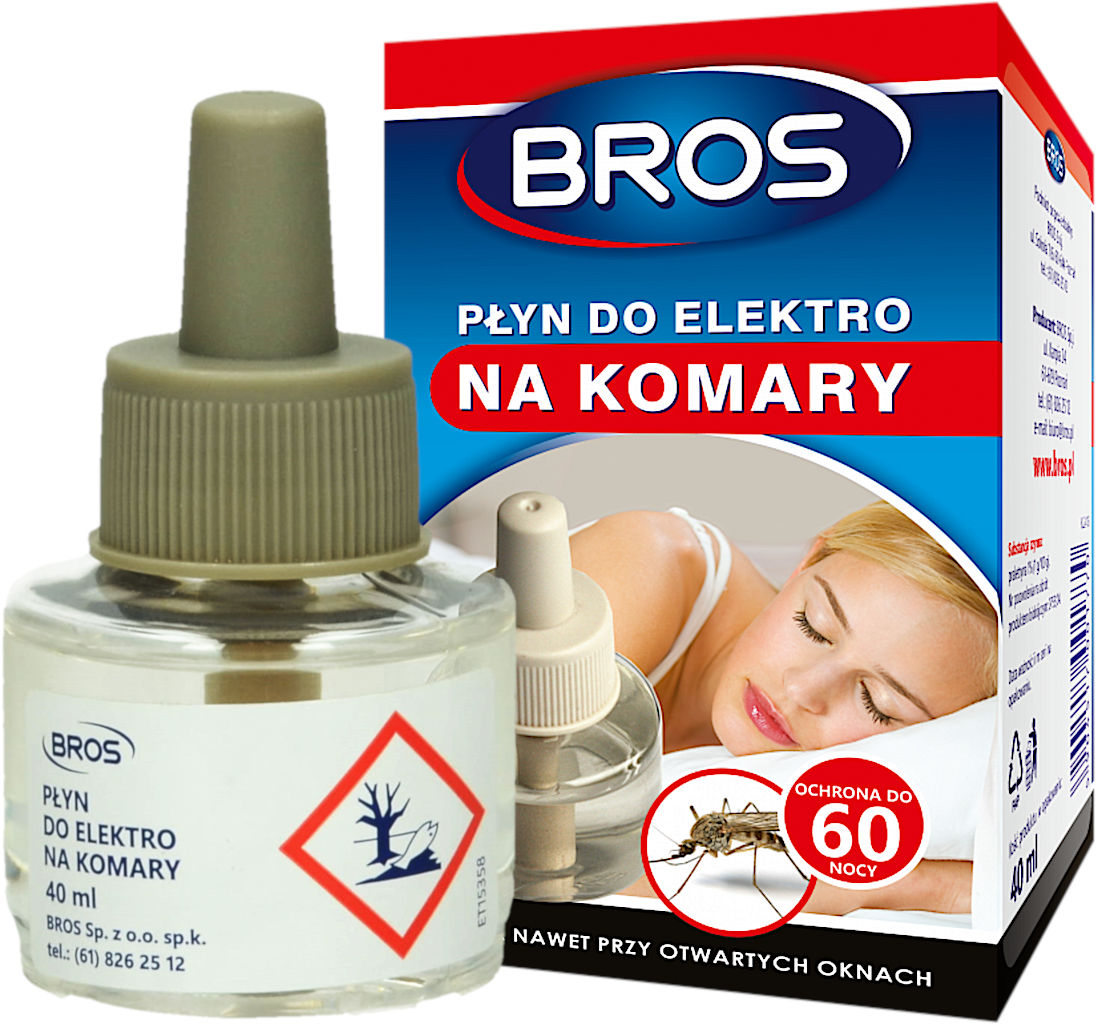 Płyn do Elektro na komary Bros. Wkład do fumigatora.
