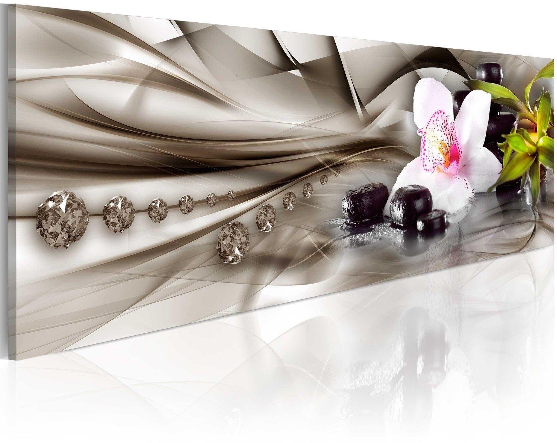 Obraz - kompozycja zen: orchidea, bambus i kamienie