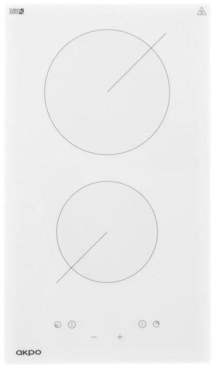 Płyta ceramiczna PKA 30830/2 biała Akpo