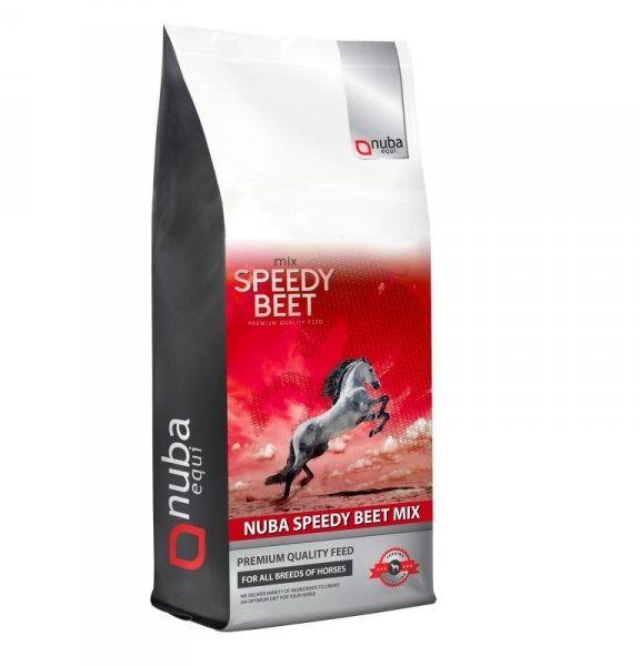 Wysłodki buraczane niemelasowane Nuba Speedy Beet Mix 20kg - Nuba Equi