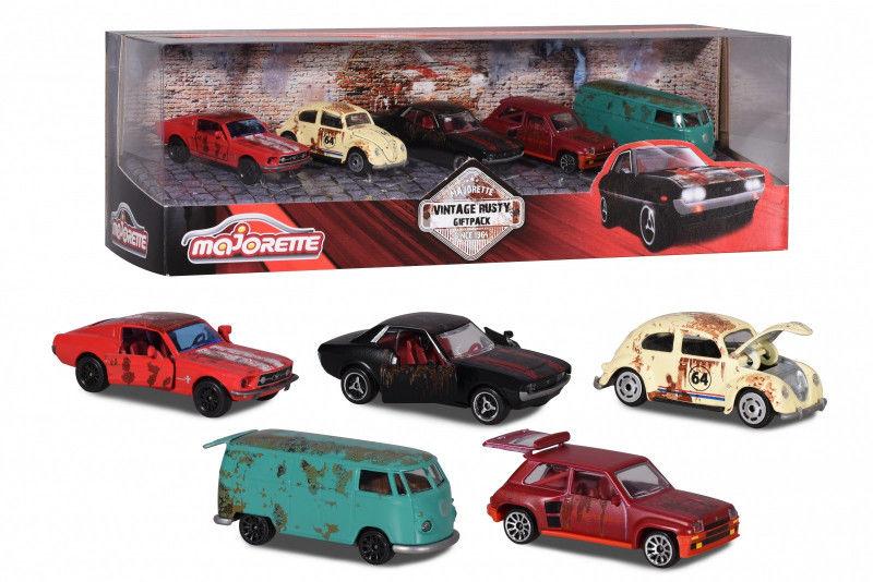 Majorette Zestaw Rdzawe pojazdy 5 sztuk