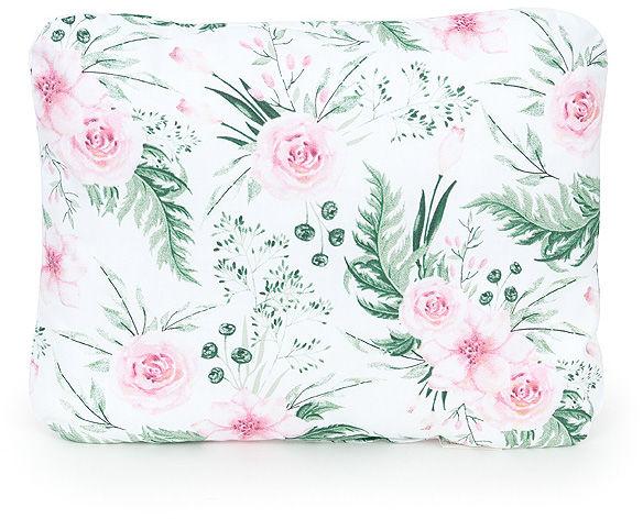 MAMO-TATO Poduszka podusia przytulanka z wypełnieniem  30x40 - Różany ogród