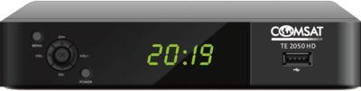 Tuner TV COMSAT DVB-2 HEVC TE 2050 HD