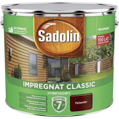 Sadolin Impregnat Classic Hybrydowy Palisander 9L
