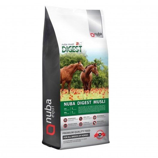Musli dla koni wrzodowych - Nuba Digest Musli 2G 20 kg - Nuba Equi