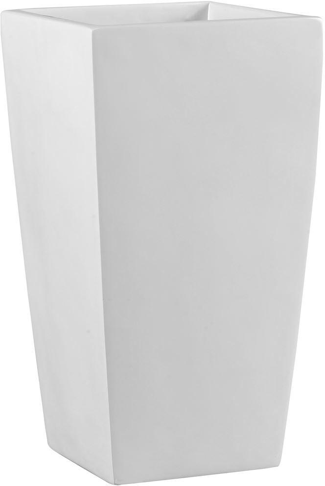 Donica z włókna szklanego D245C biały połysk