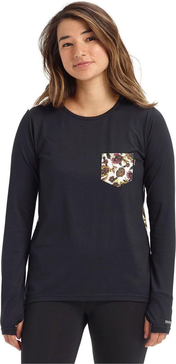t-shirt damski BURTON TECH TEE True Black
