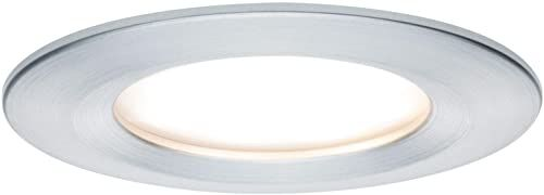 Paulmann 93897 Oprawa wpuszczana LED Zestaw Premium Coin Slim okrągły sztywny LED 3x6,8W 2700K 230V 51mm skręcony aluminiowo-aluminiowy reflektor do wbudowania
