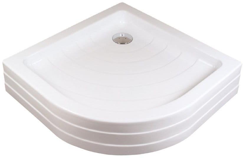 Ravak brodzik półokrągły akrylowy Ronda PU 910x910 A207001120