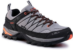 Trekkingi CMP - Rigel Low Trekking Shoes Wp 3Q54457 Cemento/Nero 75UE