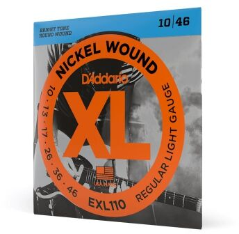 DAddario EXL 110 struny do gitary elektrycznej 10-46