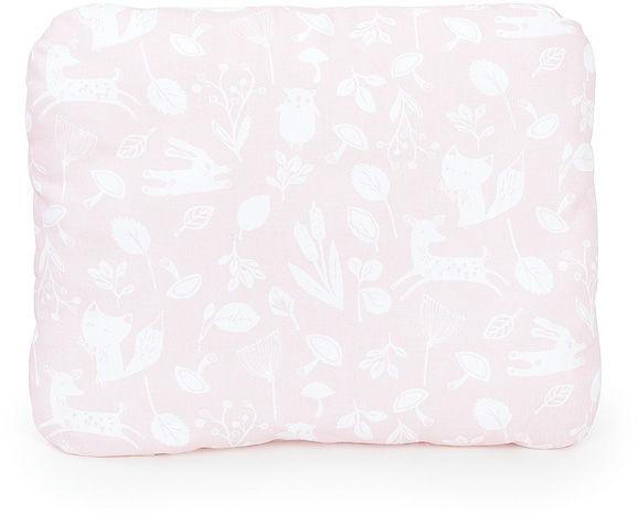 MAMO-TATO Poduszka podusia przytulanka z wypełnieniem  30x40 - Las pastelowy róż