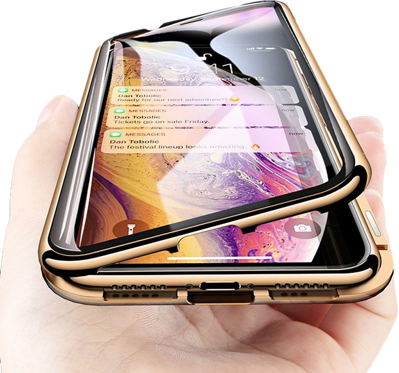 Etui Magnetic 360 Case do Apple iPhone X