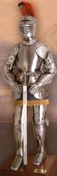 ZBROJA RYCERSKA Z XVI w. -STAL TOLEDAŃSKA zbroja rycerska (700)