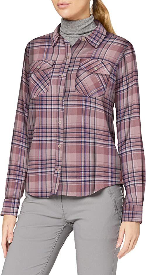 Marmot Damska koszulka Bridget Midwt flanelowa z długim rękawem, Dream State, XS