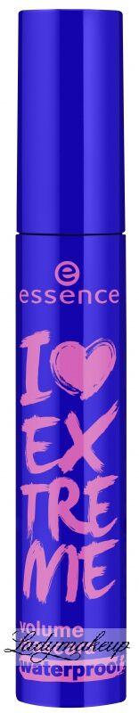 Essence - I Love Extreme - Volume mascara waterproof - Pogrubiający tusz do rzęs (WODOODPORNY) - 754321