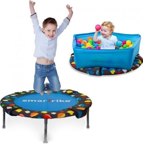 Smart-Trike Trampolina składana / basen z piłeczkami 3w1 90cm