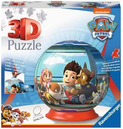 Ravensburger Puzzle 3D 12186 Ravensburger Psi Patrol 72 Elementy Puzzle 3D Kula (12186) Dla Dzieci I Dorosłych. Technologia Easy Click - Każdy Element Pasuje Idealnie