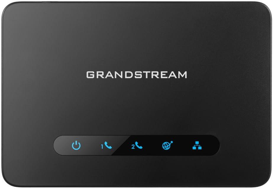 Grandstream HT812 - bramka VoIP 2 porty SIP router