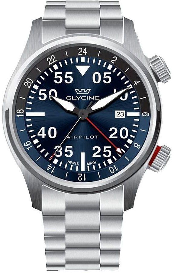 Zegarek męski Glycine Airpilot GMT