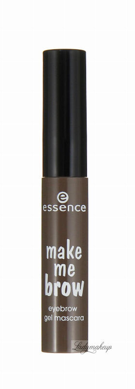 Essence - Make me brow - Eyebrow gel mascara - Żelowa maskara do brwi - 02 - BROWNY BROWS