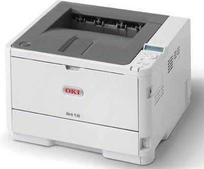 Drukarka laserowa mono Oki B412dn (45762002)