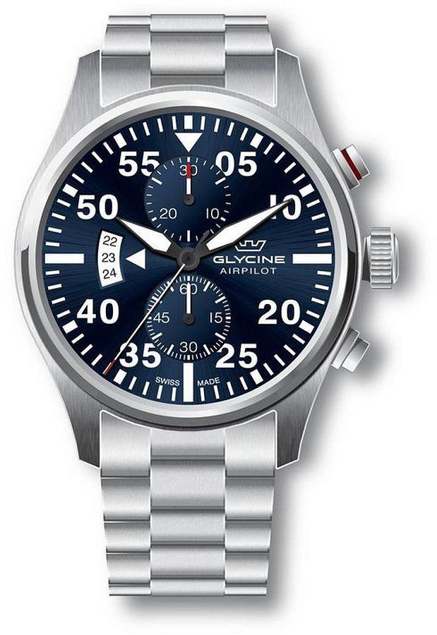 Zegarek męski Glycine Airpilot Chrono