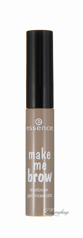 Essence - Make me brow - Eyebrow gel mascara - Żelowa maskara do brwi - 01 - BLONDY BROWS