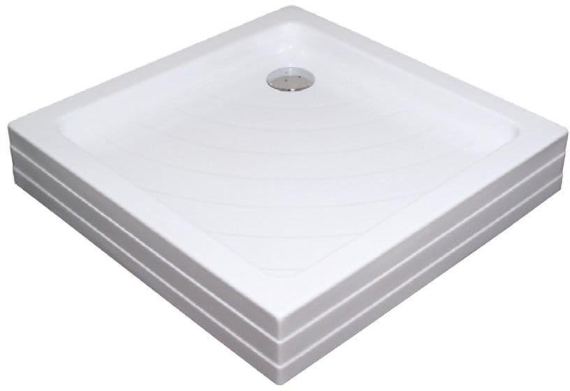 Ravak brodzik kwadratowy akrylowy ANGELA PU 80x80 CM A004401120