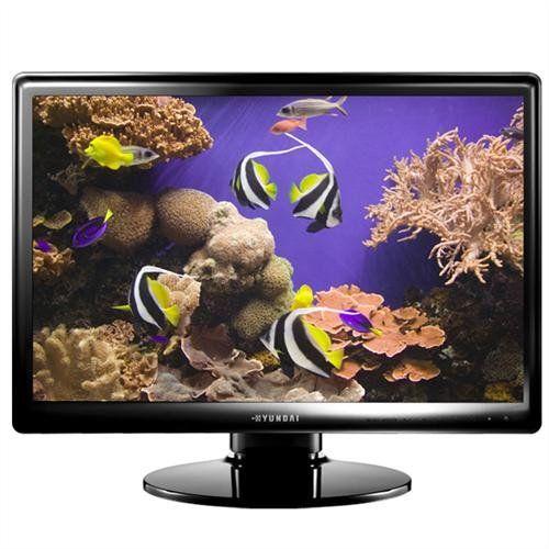 HYUNDAI W220T 55,9 cm 22 cale TN TFT Wide 16:10 1000:1 300cd/m  5ms DVB-T analogowy głośnik D-Sub HDMI pilot zdalnego sterowania