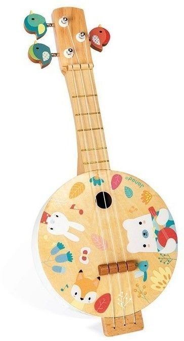 Janod - drewniane Banjo Pure
